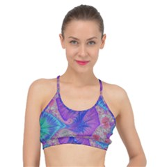 Fractal Artwork Art Design Basic Training Sports Bra