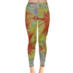 Fractal Artwork Fractal Artwork Inside Out Leggings