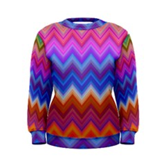 Pattern Chevron Zigzag Background Women s Sweatshirt
