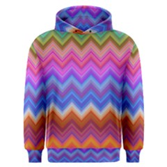 Pattern Chevron Zigzag Background Men s Overhead Hoodie