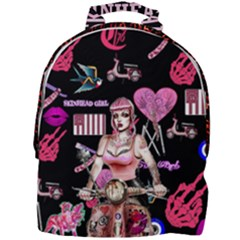 Lisa Lisa Mini Full Print Backpack by Combat76hornets
