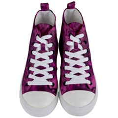 Abstract Dizzy 1a Women s Mid Top Canvas Sneakers
