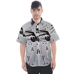 All Aces Men s Short Sleeve Shirt