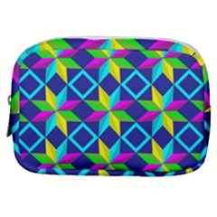Pattern Star Abstract Background Make Up Pouch (small)