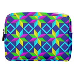 Pattern Star Abstract Background Make Up Pouch (medium)