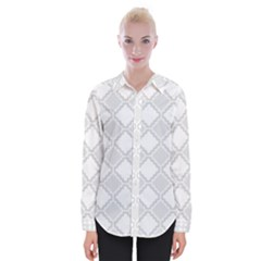 Seamless Background Abstract Vector Womens Long Sleeve Shirt