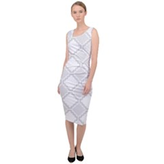 Seamless Background Abstract Vector Sleeveless Pencil Dress