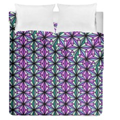 Geometric Patterns Triangle Seamless Duvet Cover Double Side (queen Size)
