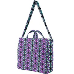 Geometric Patterns Triangle Seamless Square Shoulder Tote Bag