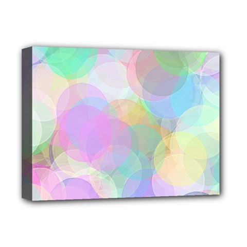 Abstract Background Texture Deluxe Canvas 16  X 12  (stretched)  by Pakrebo