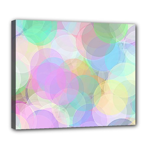 Abstract Background Texture Deluxe Canvas 24  X 20  (stretched) by Pakrebo