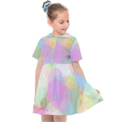 Abstract Background Texture Kids  Sailor Dress by Pakrebo