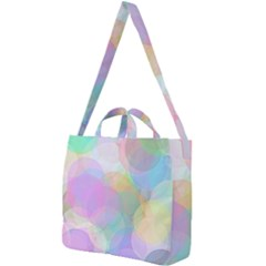 Abstract Background Texture Square Shoulder Tote Bag