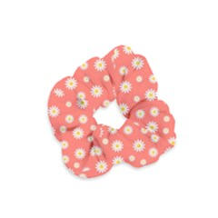 Field Of Daisies Velvet Scrunchie by TimelessFashion