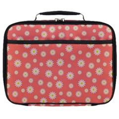 Field Of Daisies Full Print Lunch Bag