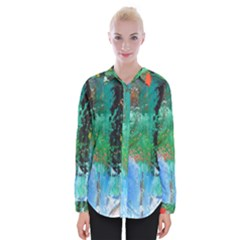 Garden 2 Womens Long Sleeve Shirt