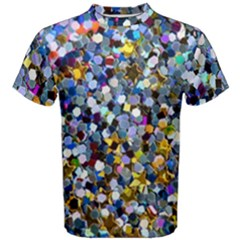 New Years Shimmer Men s Cotton Tee