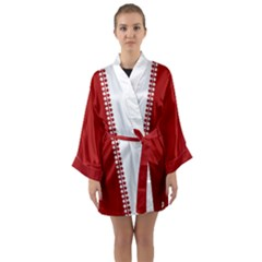 Classic Canada Robes Long Sleeve Canada Kimono Robe by CanadaSouvenirs