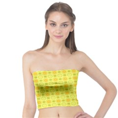 Traditional Patterns Chrysanthemum Tube Top