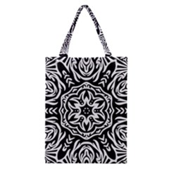 Pattern Star Design Texture Classic Tote Bag
