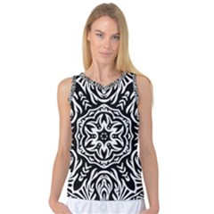 Pattern Star Design Texture Women s Basketball Tank Top