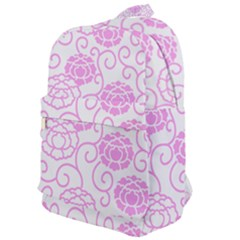 Peony Asia Spring Flowers Natural Classic Backpack
