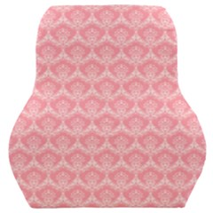 Damask Floral Design Seamless Car Seat Back Cushion