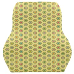 A Hexagonal Pattern Car Seat Back Cushion