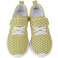 A Hexagonal Pattern Women s Velcro Strap Shoes