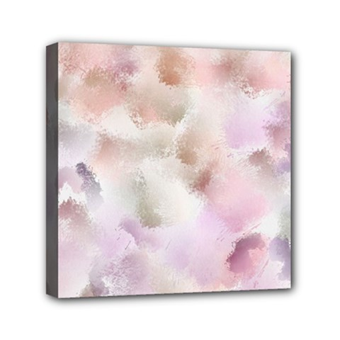 Abstract Watercolor Seamless Mini Canvas 6  X 6  (stretched)