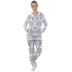 Mandala Drawing Dyes Page Women s Tracksuit