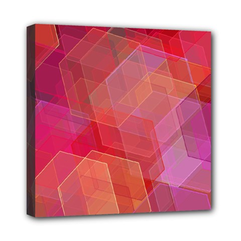 Abstract Background Texture Mini Canvas 8  X 8  (stretched)