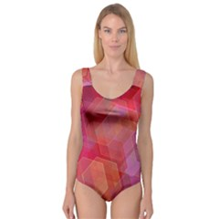 Abstract Background Texture Princess Tank Leotard  by Pakrebo