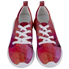 Abstract Background Texture Women s Lightweight Sports Shoes