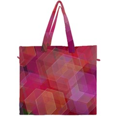 Abstract Background Texture Canvas Travel Bag