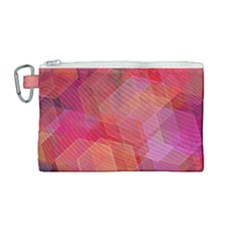 Abstract Background Texture Canvas Cosmetic Bag (medium)
