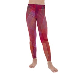 Abstract Background Texture Kids  Lightweight Velour Leggings by Pakrebo