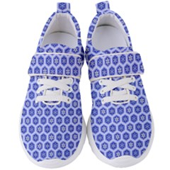 A Hexagonal Pattern Women s Velcro Strap Shoes by Pakrebo