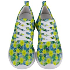 Narcissus Yellow Flowers Winter Men s Lightweight Sports Shoes