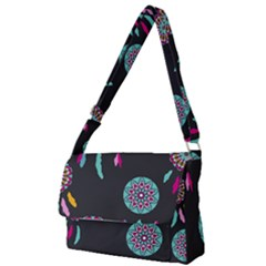 Dreamcatcher Seamless American Full Print Messenger Bag
