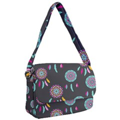 Dreamcatcher Seamless American Courier Bag