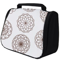 Graphics Geometry Abstract Full Print Travel Pouch (big)