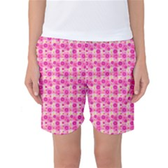 Hana Tsurukusa Heart Pink Women s Basketball Shorts