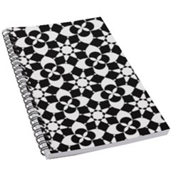 Mosaic Floral Repeat Pattern 5 5  X 8 5  Notebook by Pakrebo