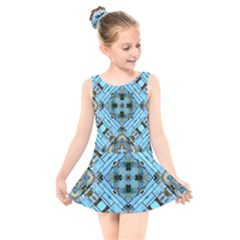 Background Wallpaper Kids  Skater Dress Swimsuit