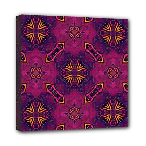 Backdrop Background Cloth Colorful Mini Canvas 8  X 8  (stretched)