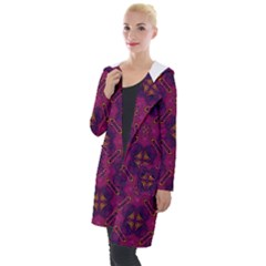 Backdrop Background Cloth Colorful Hooded Pocket Cardigan