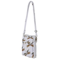 Pattern Dragonfly Background Multi Function Travel Bag
