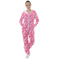 Phlox Spring April May Pink Women s Tracksuit