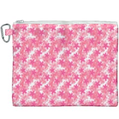 Phlox Spring April May Pink Canvas Cosmetic Bag (xxxl) by Pakrebo